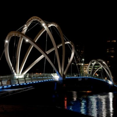 Seafarers Bridge, Docklands VIC