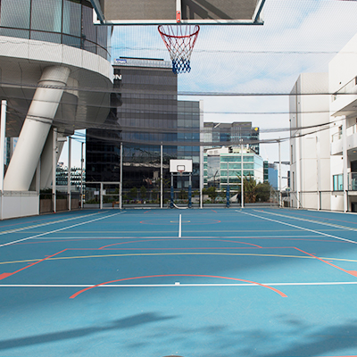 720 Bourke St Basketball Court